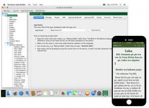 Scripture App Builder for Mac Released - Scripture App Builder for